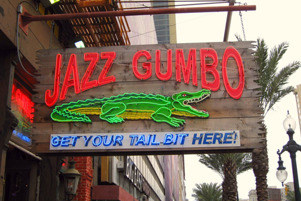 New Orleans: jazz, gumbo and tail-biting.