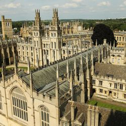 All Souls College, Oxford University, England, on June 14, 2017.