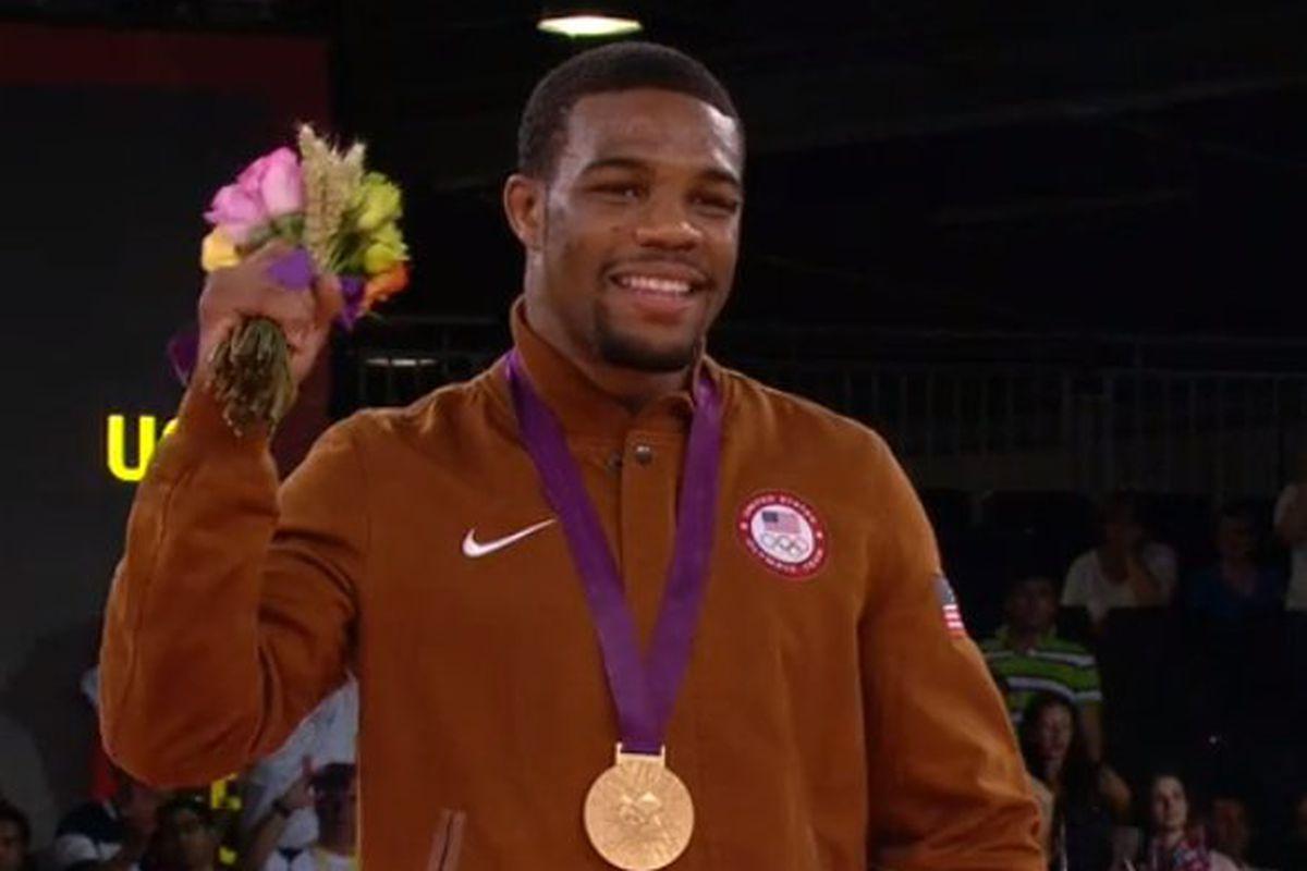 5c23ffa72d266b London 2012  Jordan Burroughs Wins Gold In Freestyle Wrestling ...