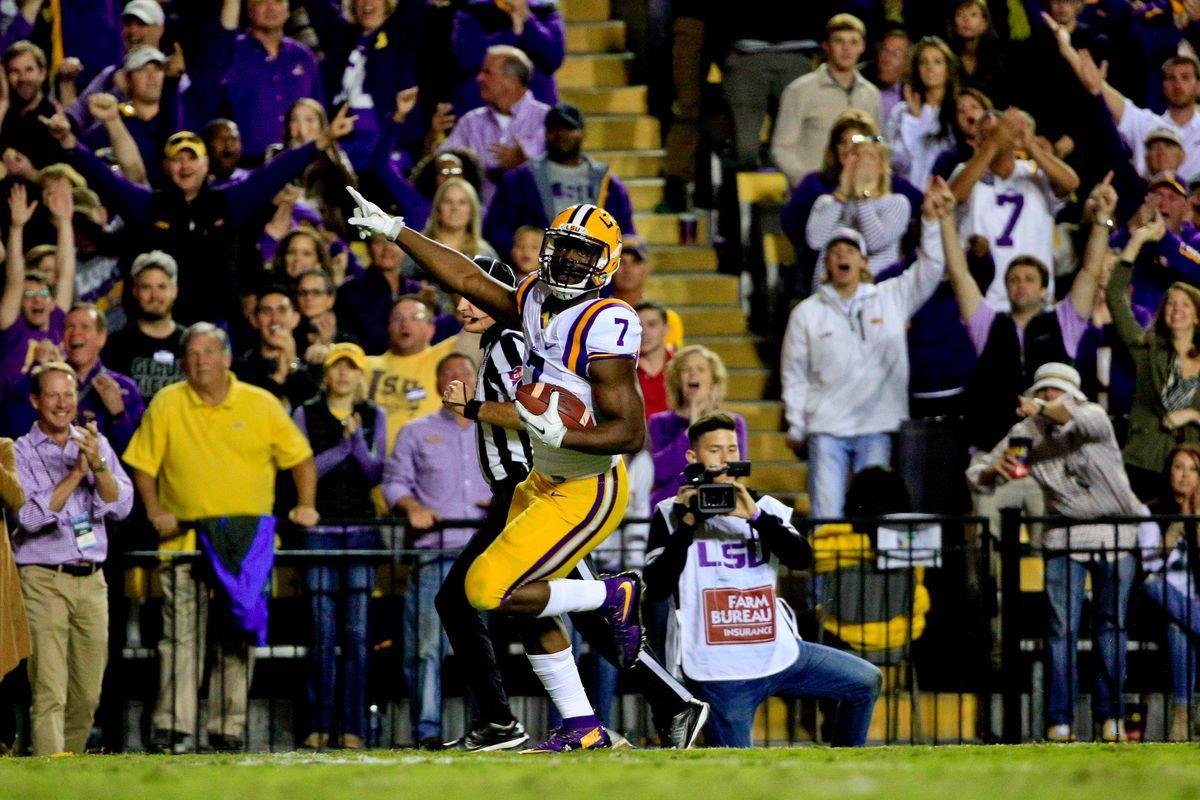 NCAA Football: Mississippi at Louisiana State
