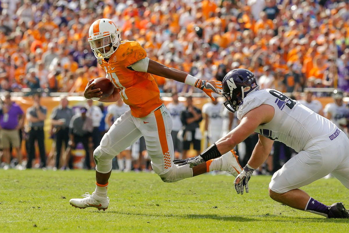 Top Tennessee Games Of The Past Decade: No  8: 2016 Outback
