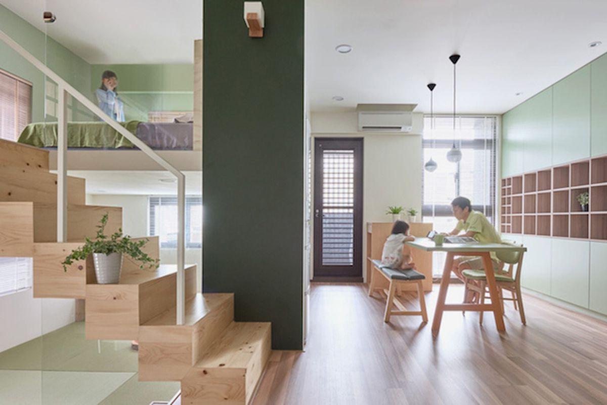 "All photos by Hey! Cheese via <a href=""http://www.designboom.com/architecture/hao-design-studio-block-village-interiors-kaohsiung-city-taiwan-12-08-2015/"">Designboom</a>"