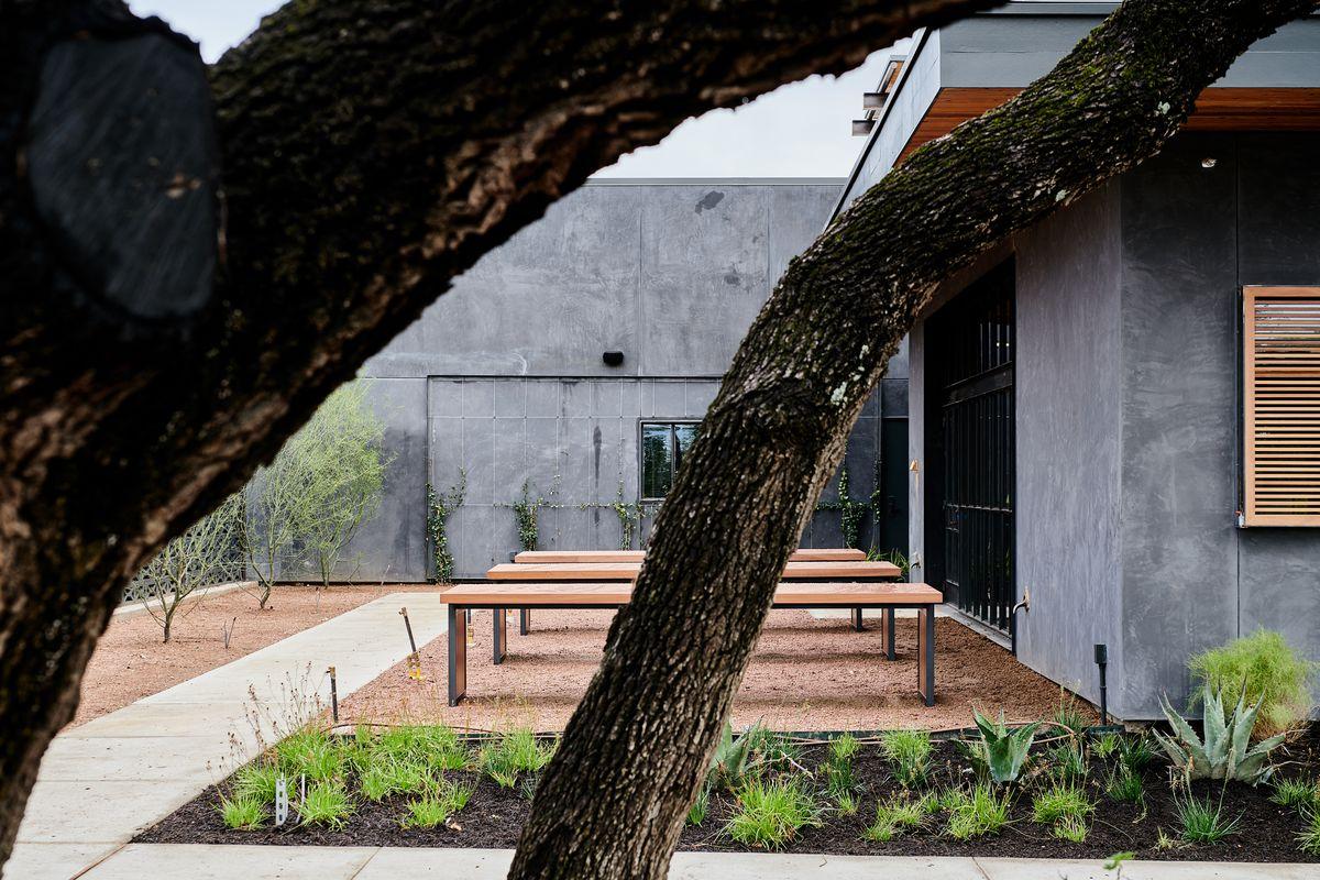Sway Westlake's courtyard