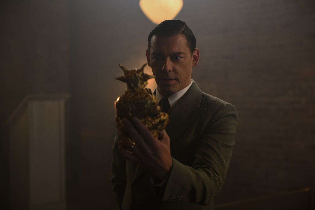 RICHARD COYLE as FR. FAUSTUS BLACKWOOD in CHILLING ADVENTURES OF SABRINA