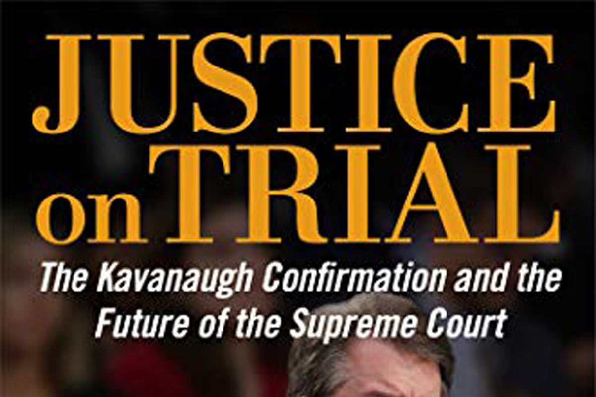 """""""Justice on Trial: The Kavanaugh Confirmation"""" by Mollie Hemingway and Carrie Severino."""