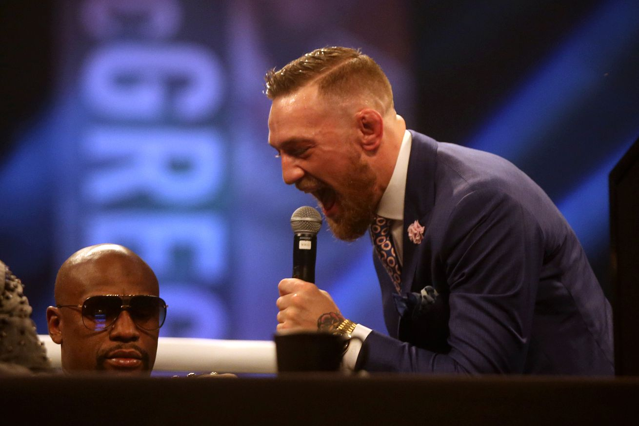 Chael Sonnen sees the value in Conor McGregor's trash-talk game.