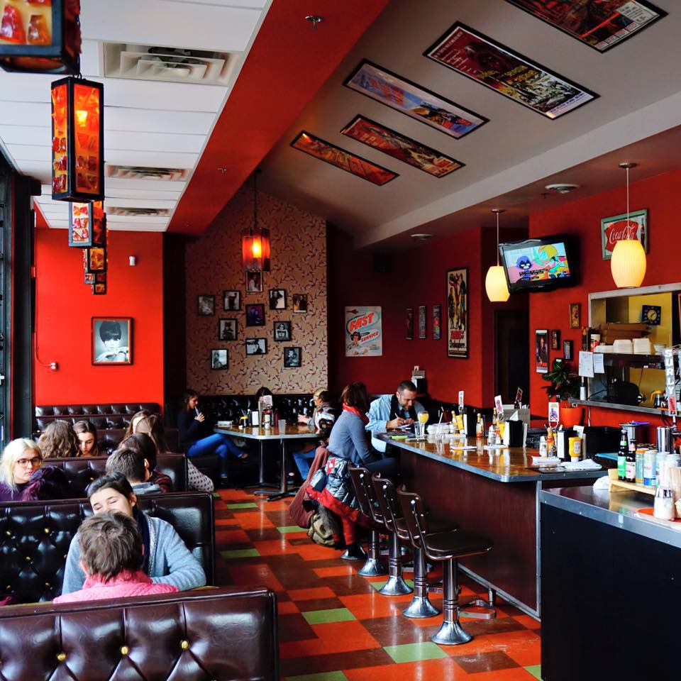 Inside The Bad Waitress Diner