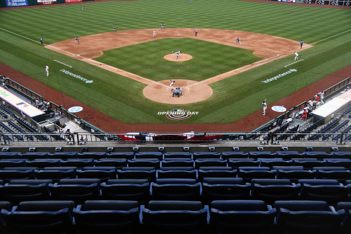A general view of Citizens Bank Park during the second inning between the Philadelphia Phillies and Miami Marlins.