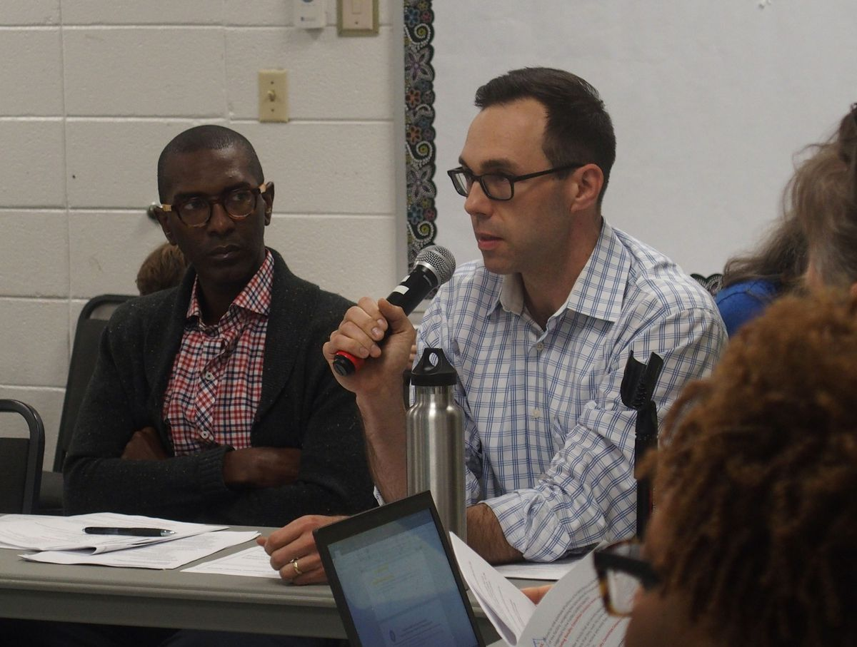 Brad Leon, chief of strategy and innovation for Shelby County Schools, helped to craft the new plan.