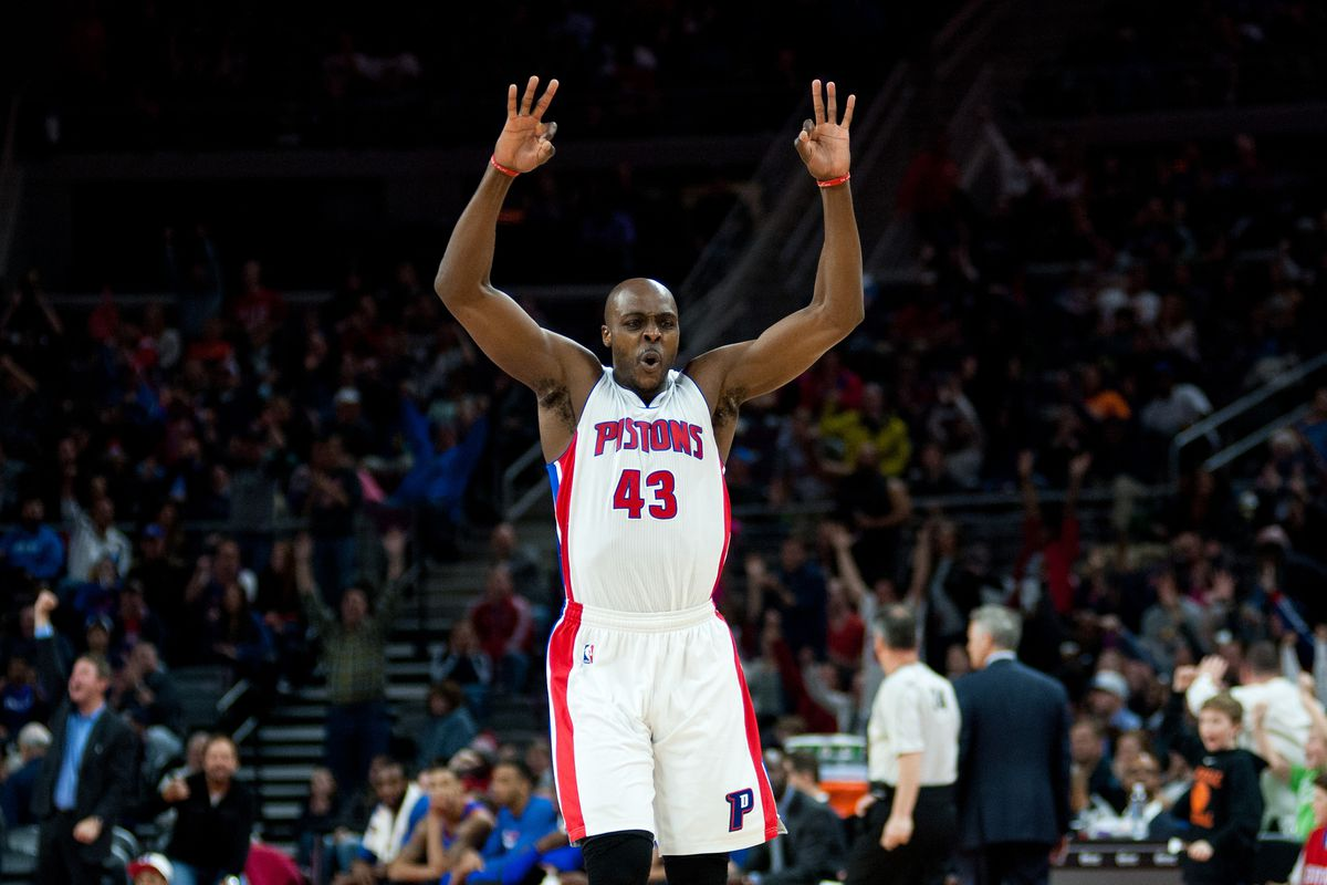 best loved 1880e 2b5f4 2014-2015 Pistons player reviews: Anthony Tolliver - Detroit ...