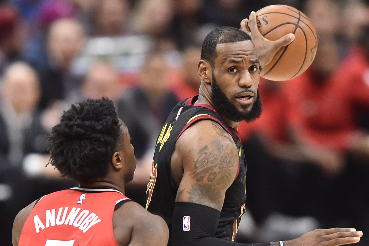 Raptors vs. Cavs 2018 live stream  Cleveland thoroughly dominates Toronto to  sweep Raptors in Game 4 335e77b49