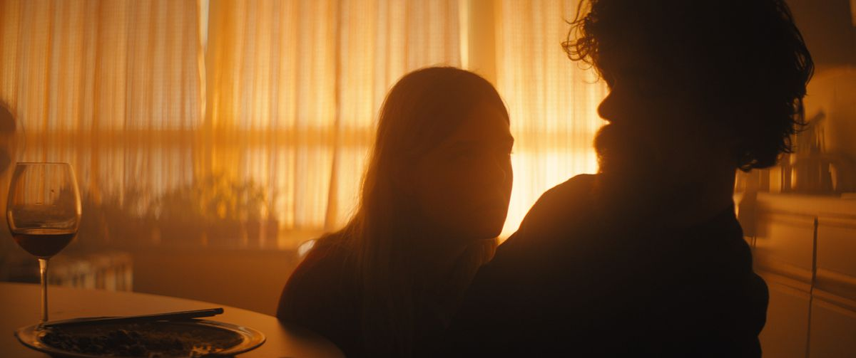 Elle Fanning and Peter Dinklage in I Think We're Alone Now
