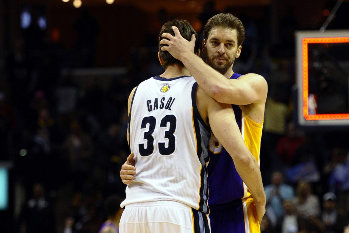 The Brothers Gasol are two of St. Jude's biggest supporters