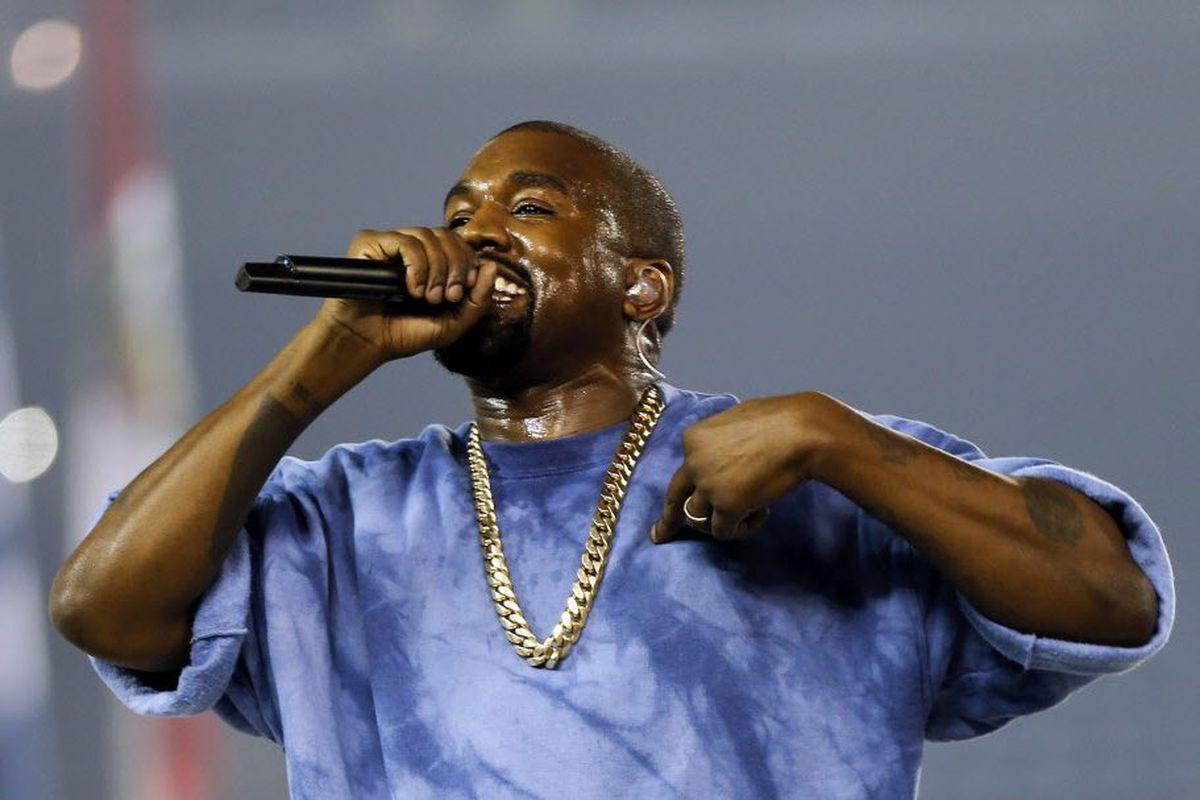 Kanye West.   AP