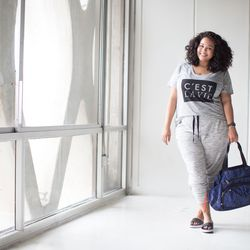 Graphic tee, $16.99; leisure jogger; $24.99