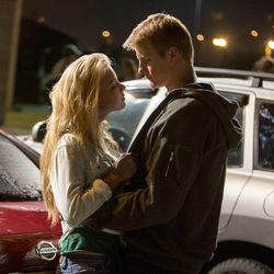 """Anna Margaret and Alexander Ludwig in TriStar Pictures' """"When the Game Stands Tall."""""""