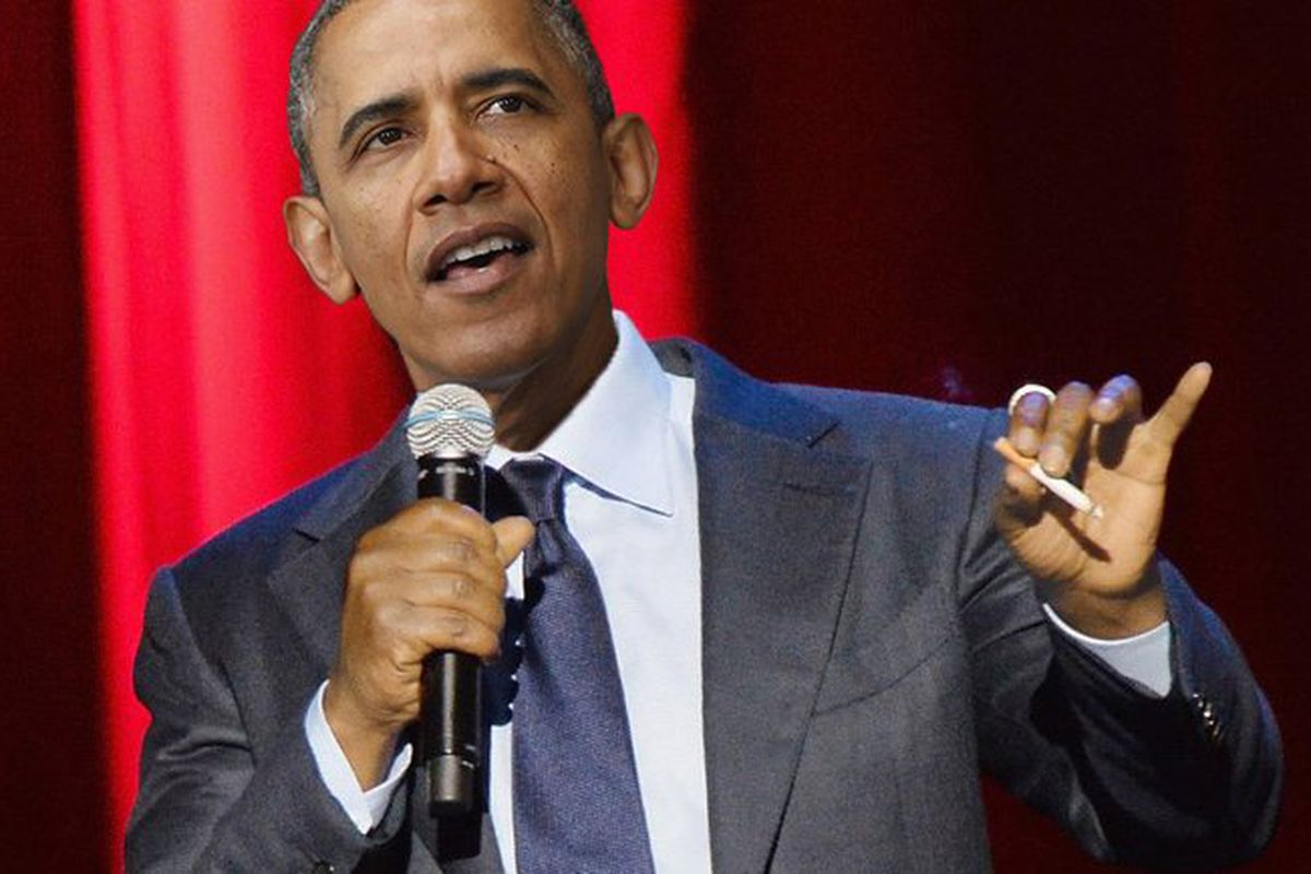 Obama Bombs At The Laugh Factory - Funny Or Die