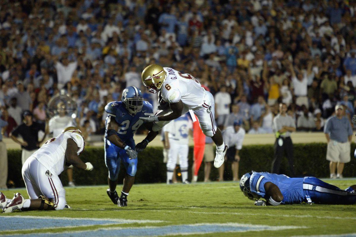 Jones scores a touchdown