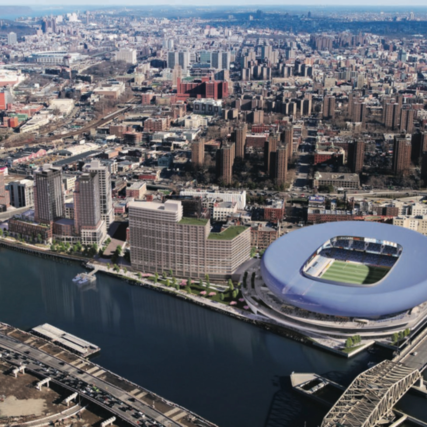 c4a7771be6ce5 NYC s first soccer stadium may rise next to Yankee Stadium - Curbed NY