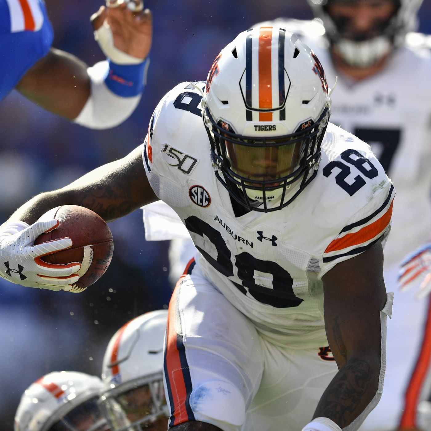 Boobee Whitlow Injury Auburn Rb Out 4 6 Weeks With Knee