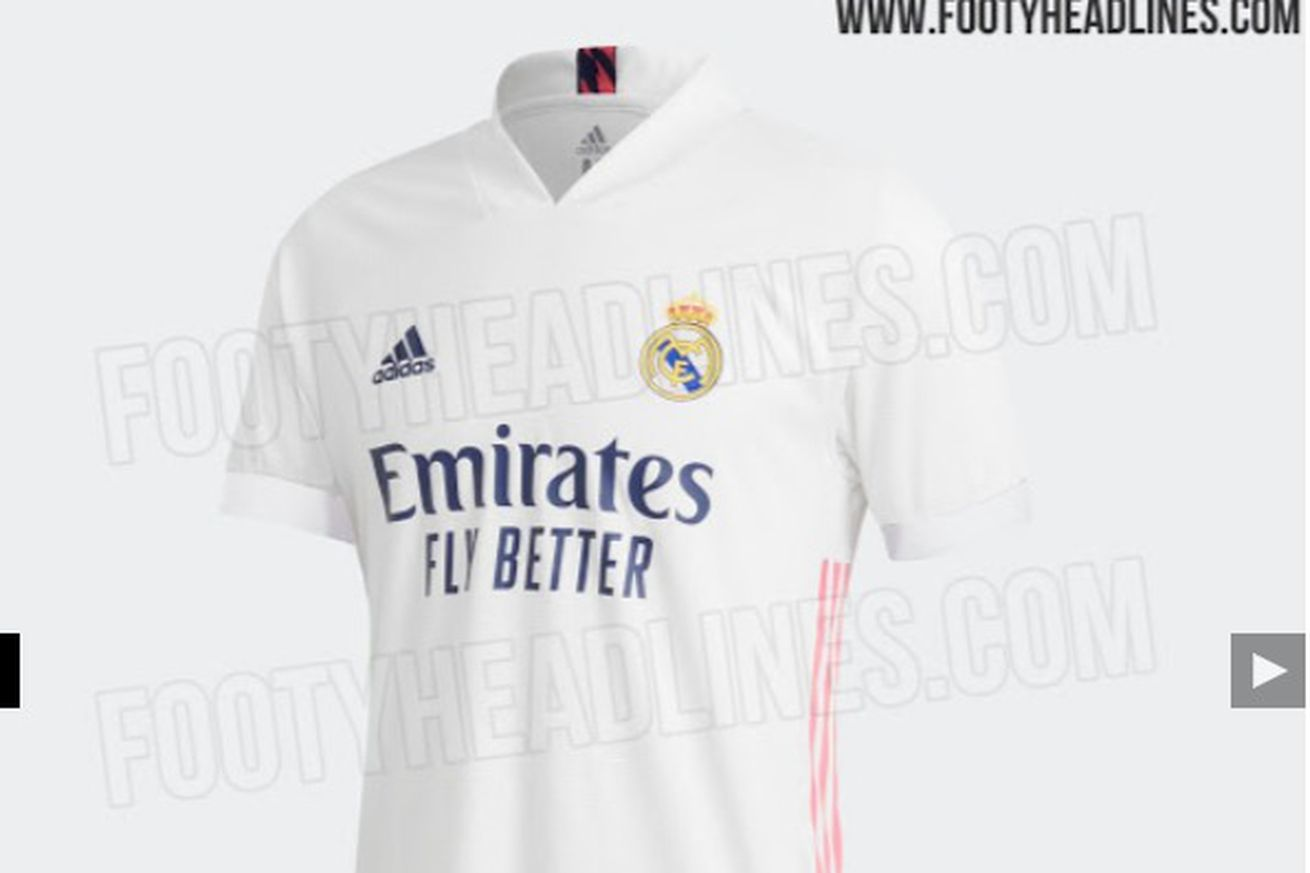 Adidas update Real Madrid?s leaked home kit for 2020-21 season