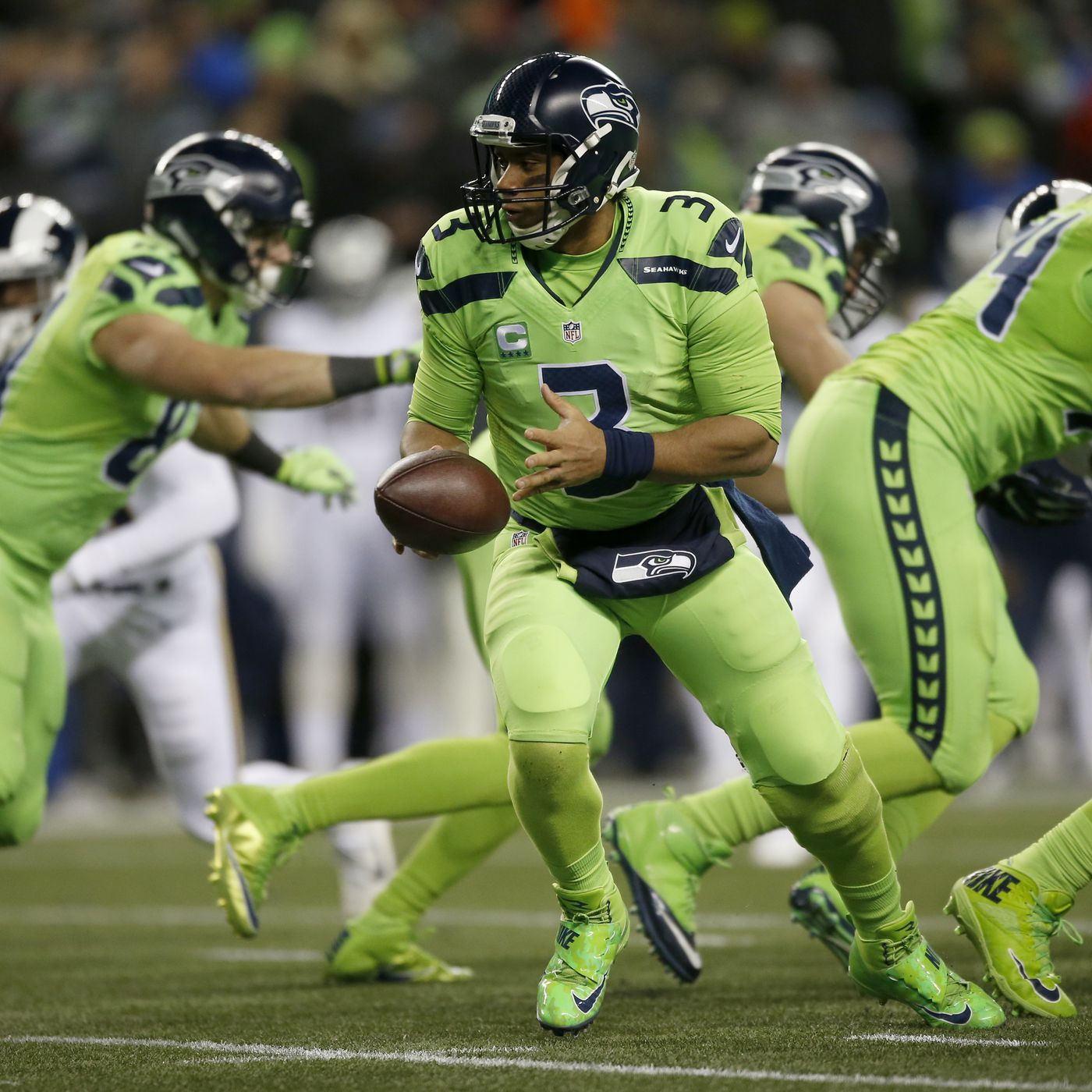 May the Seattle Seahawks 'Action Green' uniforms never resurface ...
