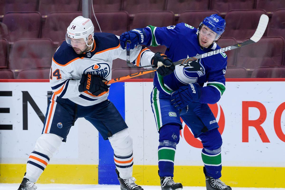 NHL: MAR 13 Oilers at Canucks