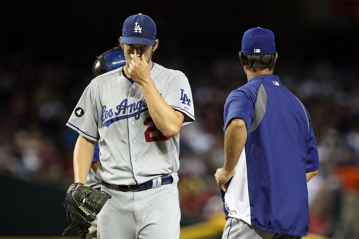Clayton Kershaw couldn't believe it either.