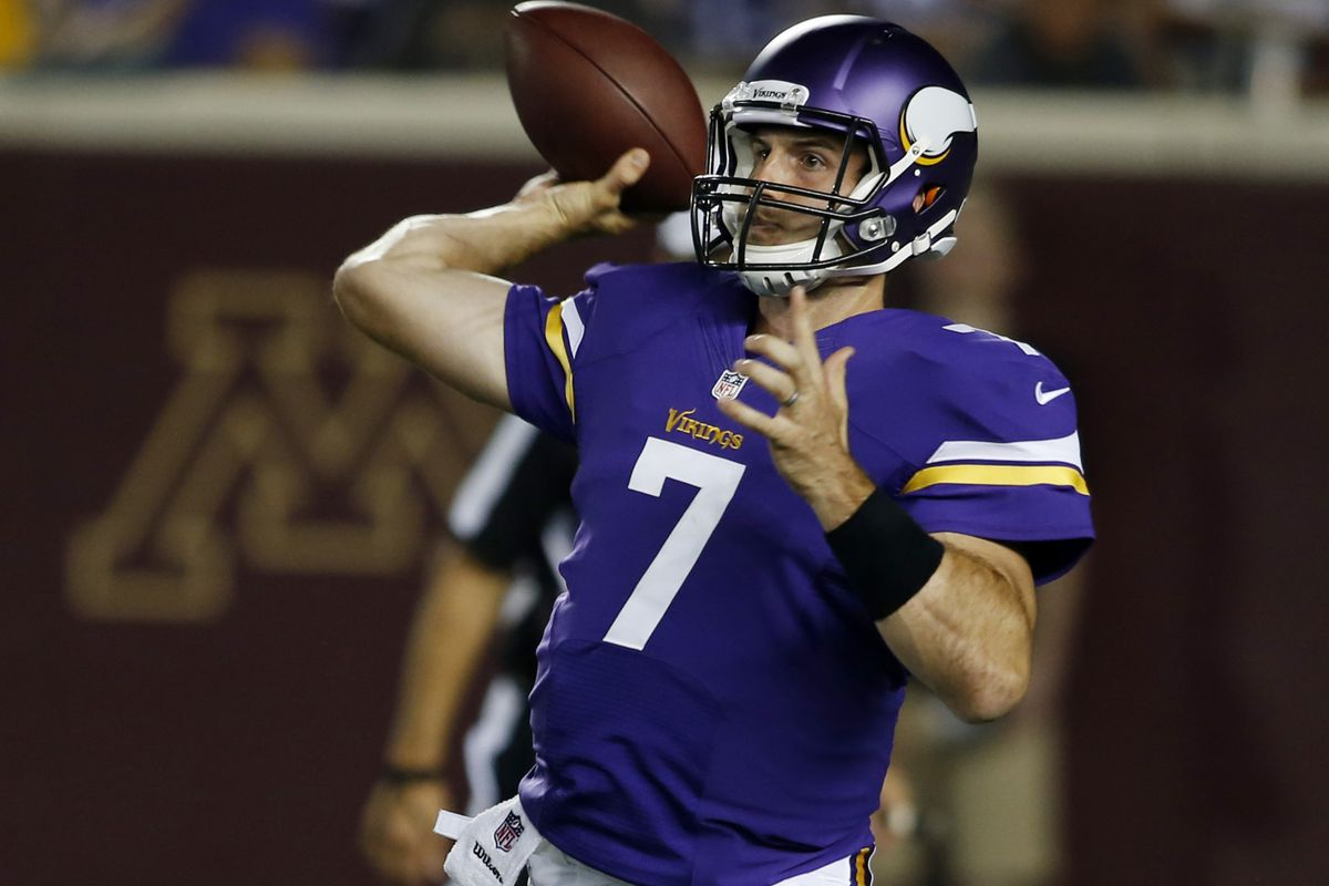 Christian Ponder? Yep. Troll move? There's a high probability.