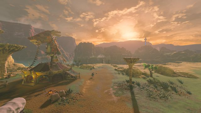 Breath of the Wild mod lets you play entire game in first-person