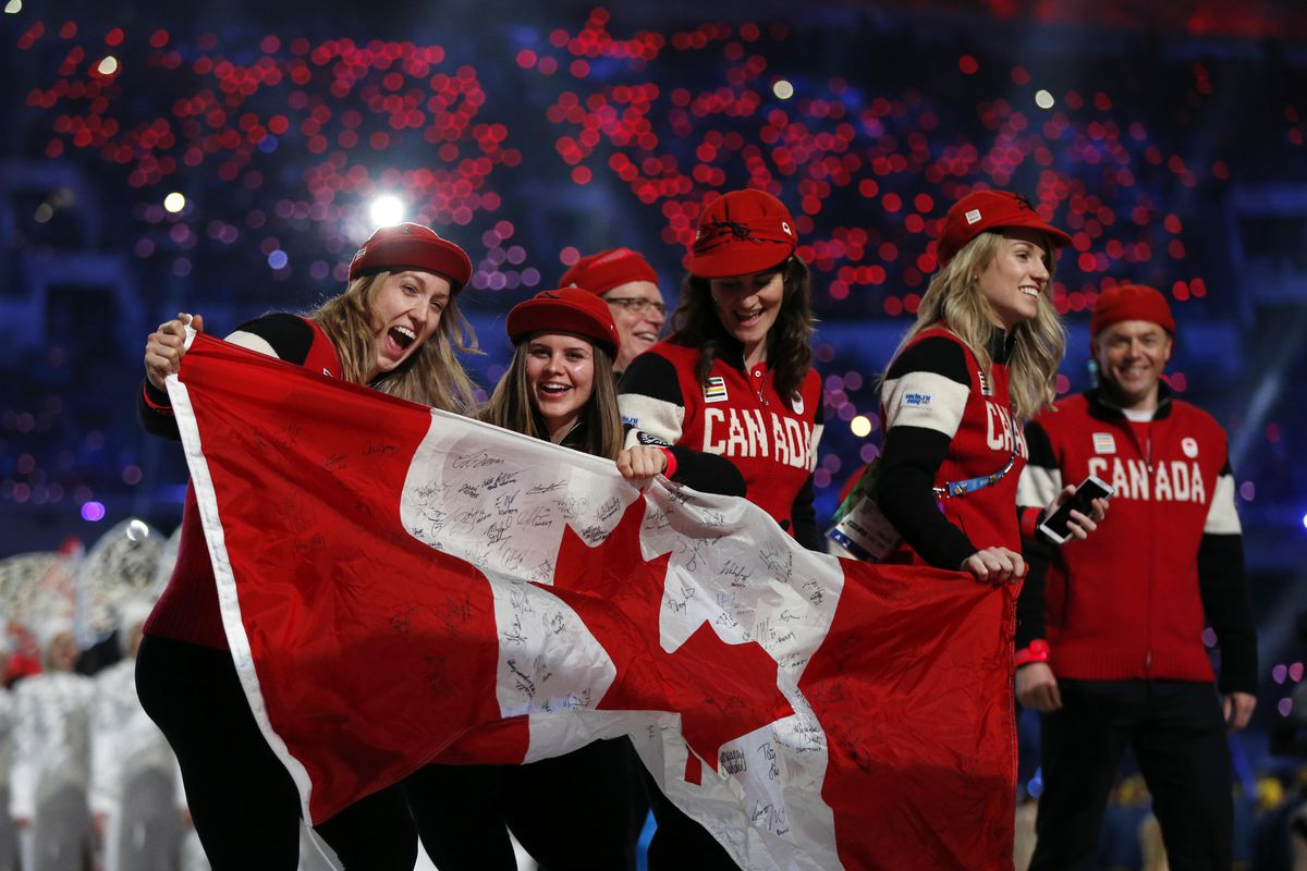 Canadians look good in Scarlet and White gear . . . Just Sayin',