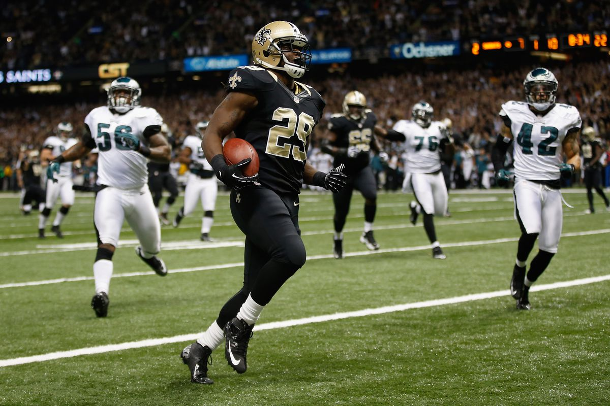 TUSK!!!! found his way to the end zone last night as the running game excelled last night.