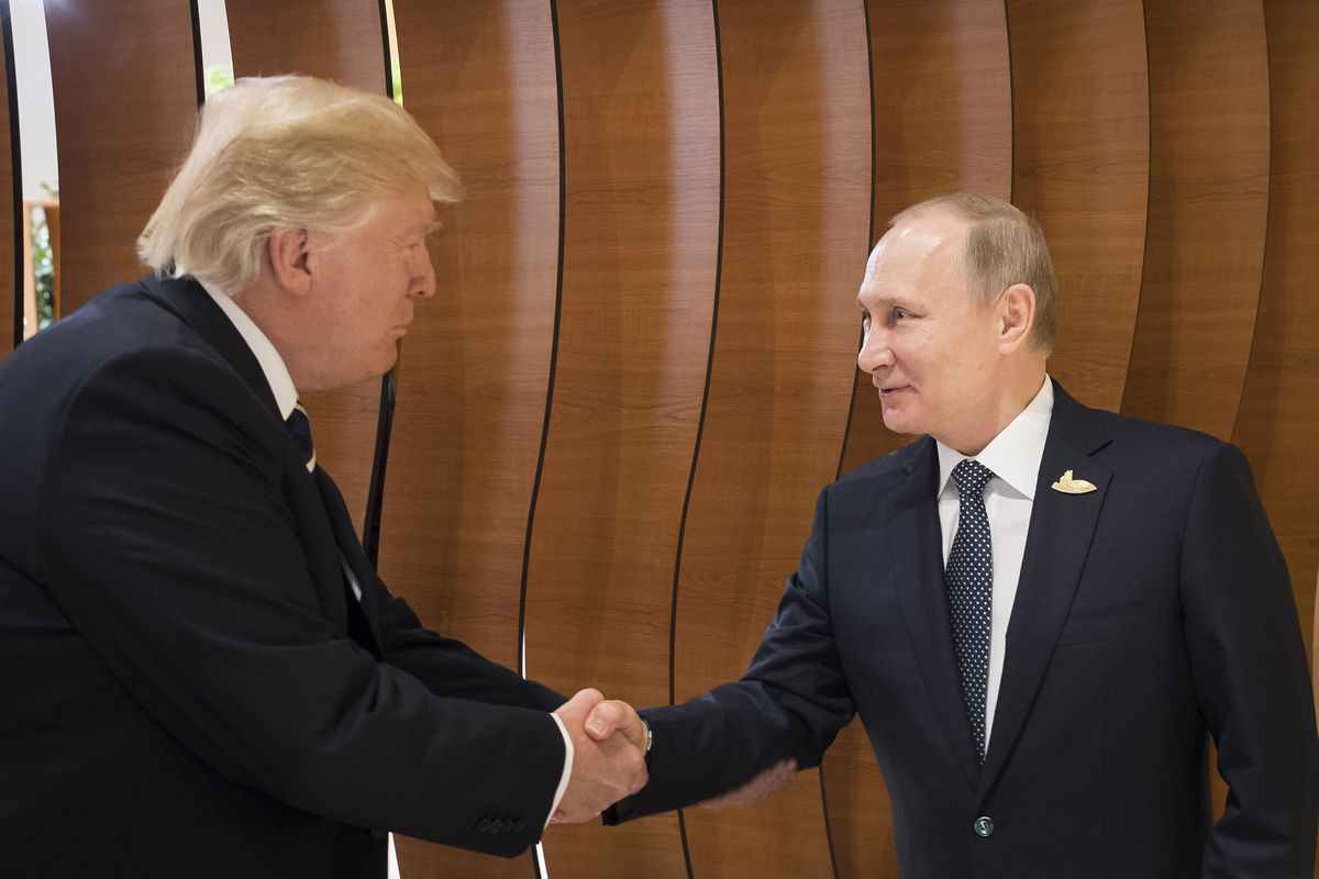 President Donald Trump and Russian leader Vladimir Putin might strike a deal on Syria when they meet in Helsinki on July 16.