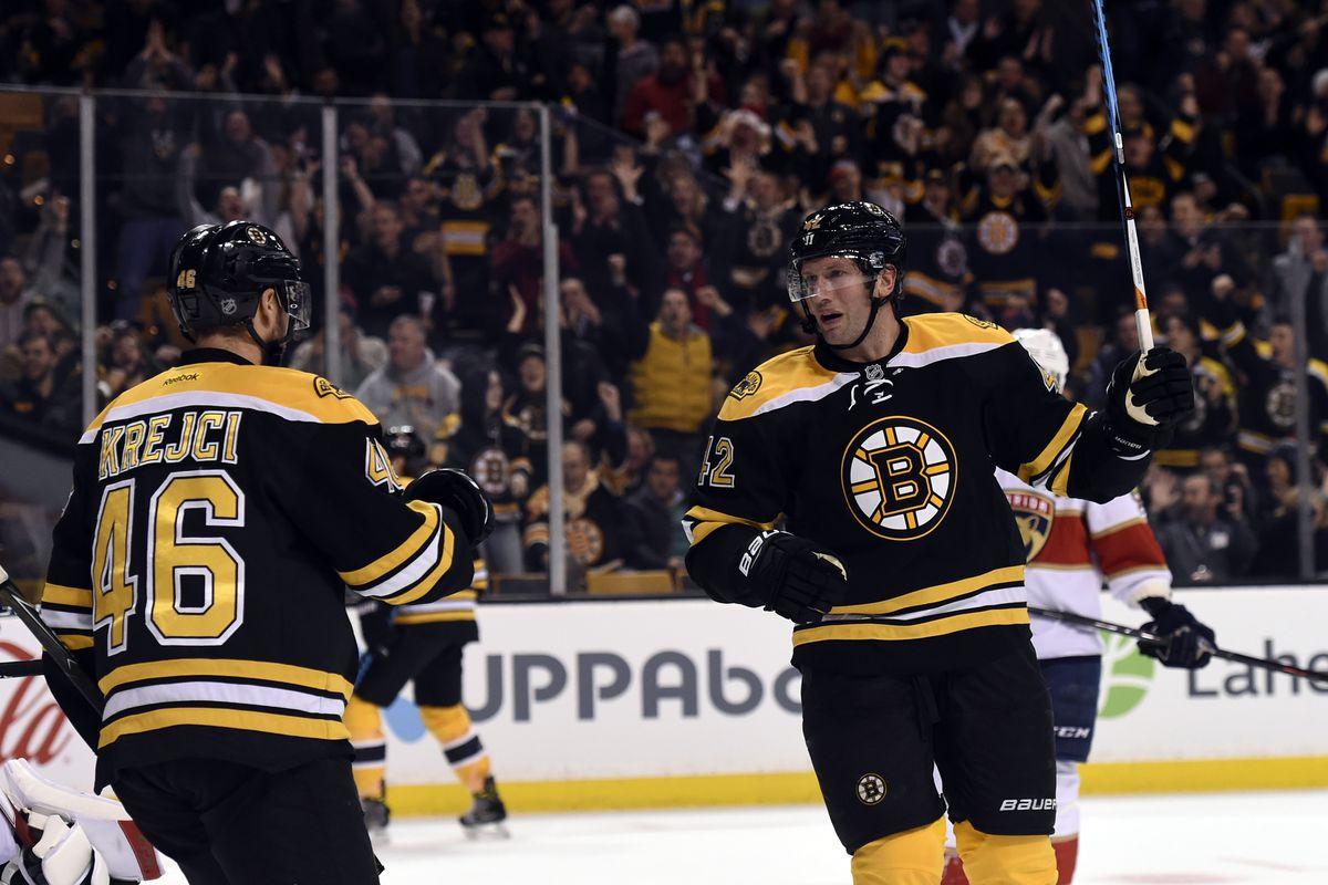 Preview Bruins Host Panthers In Matinee Tilt Stanley Cup Of Chowder