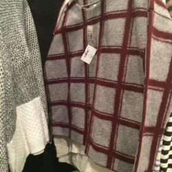 Wool and cotton sweater, $35