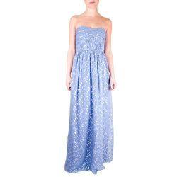 "<b>Shoshanna</b> Jennifer Gown at <b>Crush Boutique</b>, <a href=""http://www.shopcrushboutique.com/apparel/dresses/shoshanna-jennifer-gown-in-periwinkle.html"">$495</a>"