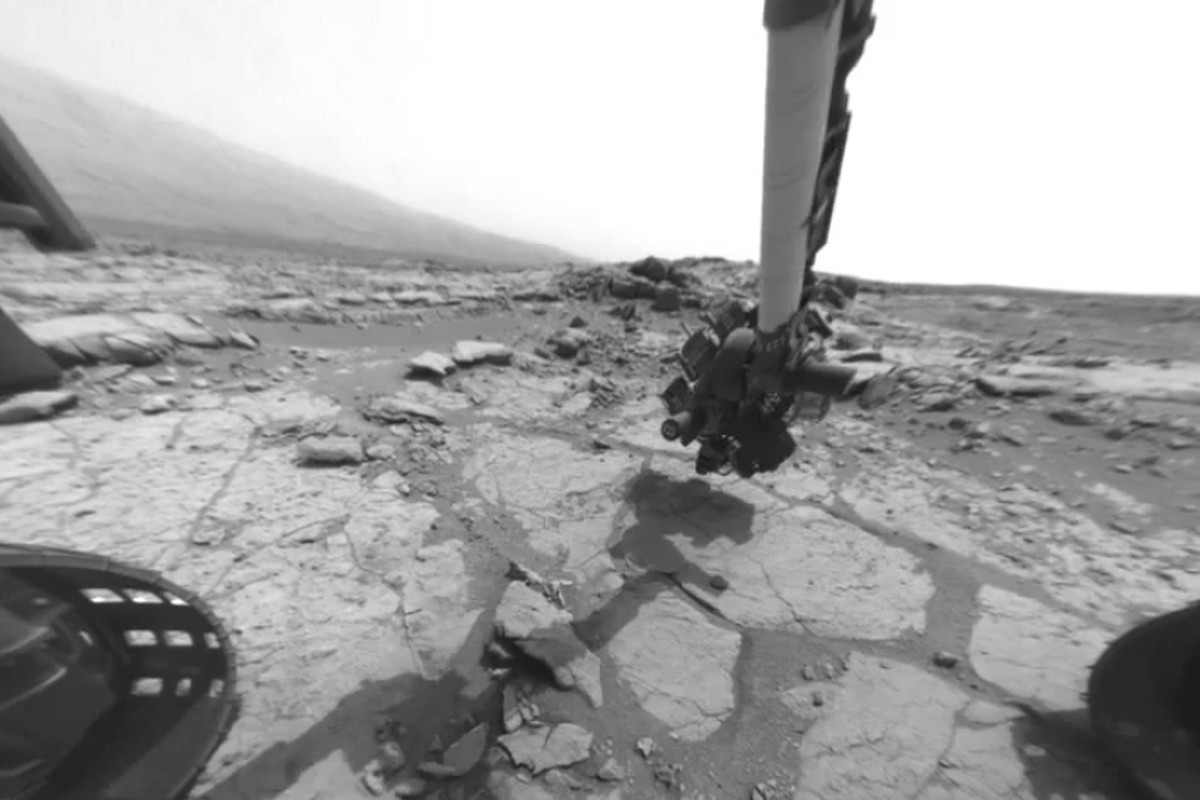 Curiosity rover year one