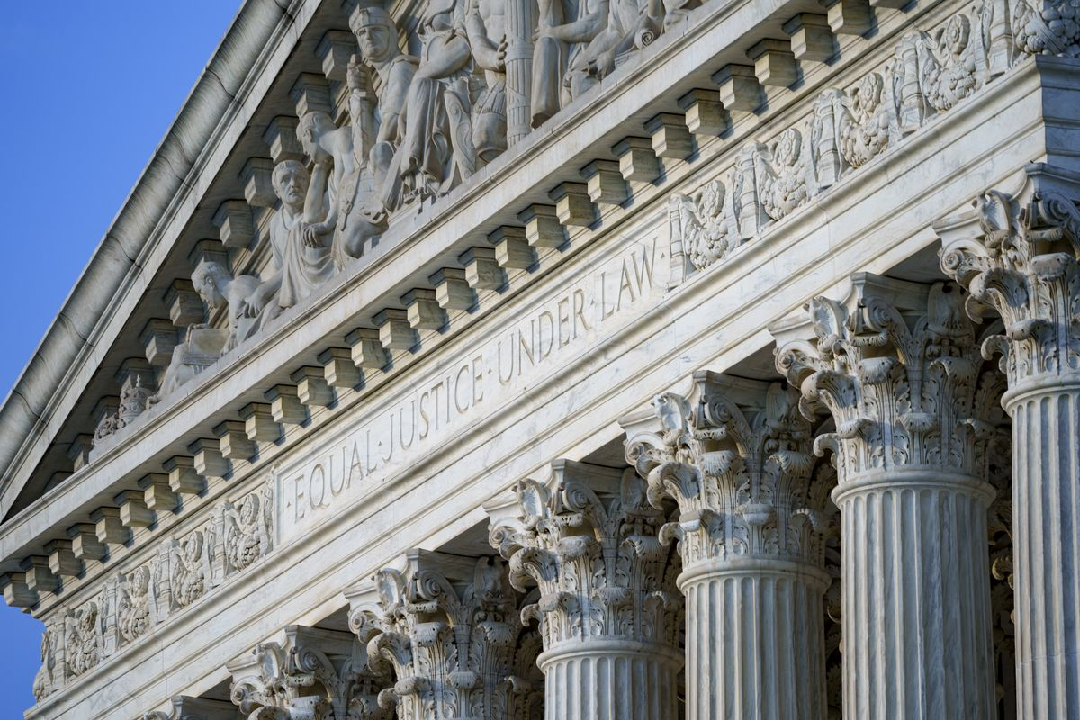 In this June 30, 2021, file photo the Supreme Court is seen in Washington. A deeply divided Supreme Court is allowing a Texas law that bans most abortions to remain in force, stripping most women of the right to an abortion in the nation's second-largest state. The court voted 5-4 to deny an emergency appeal from abortion providers and others that sought to block enforcement of the law that went into effect Wednesday, Sept. 1.