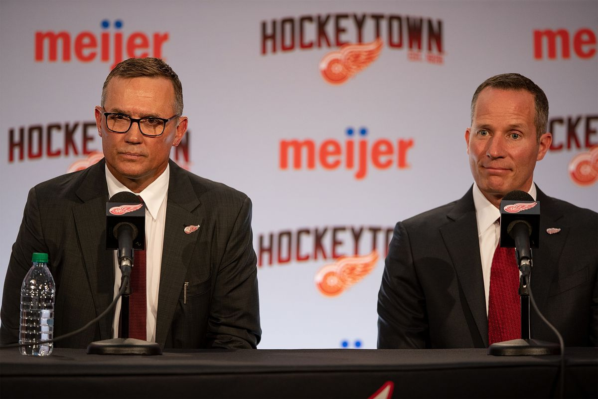 Detroit Red Wings Introduce New General Manager Steve Yzerman