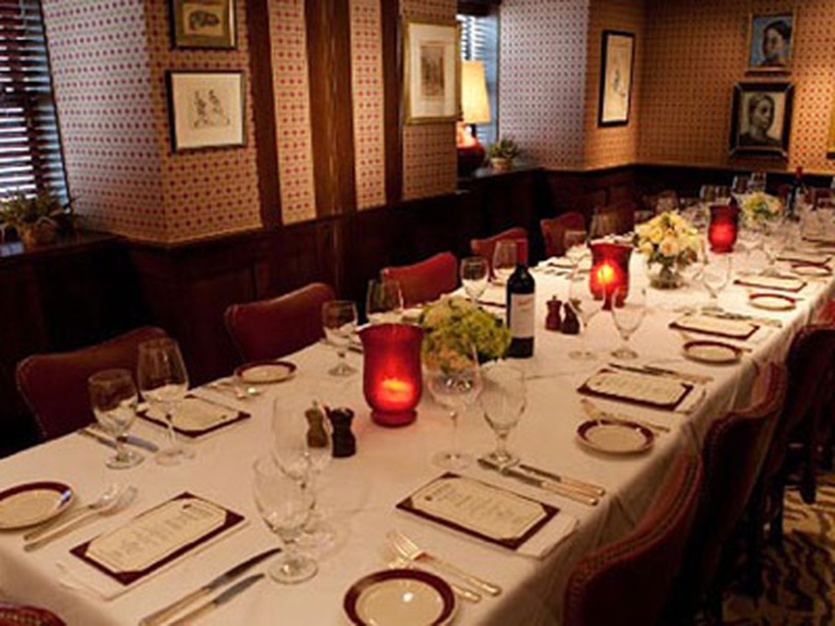 A guide to whale watching in atlanta eater atlanta - Private dining room atlanta ...