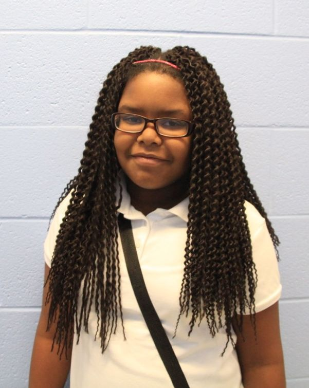 Miranda Moore, 11, attended Alton Elementary after Lincoln Elementary was shuttered and now attends Riverview School.