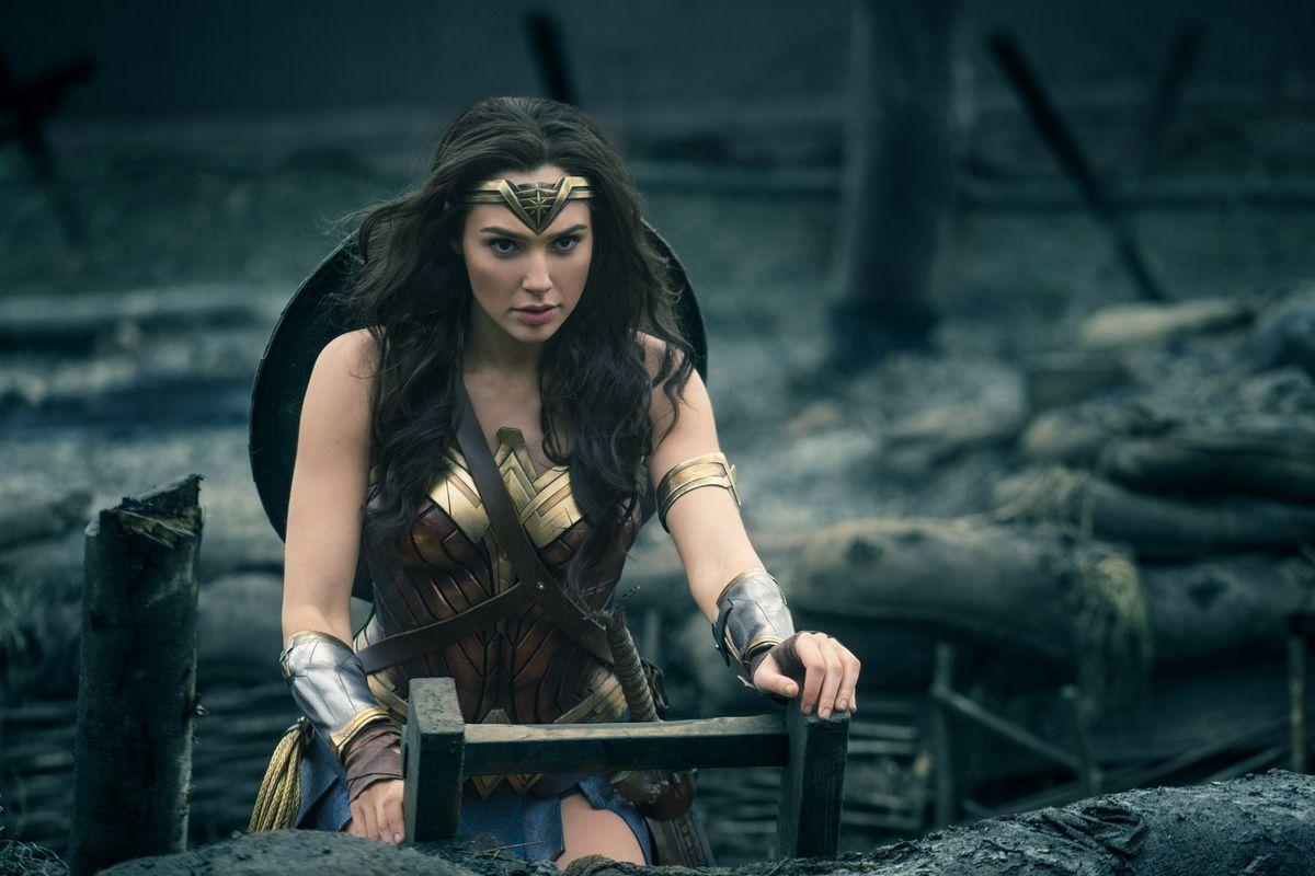 Gal Gadot plays Wonder Woman