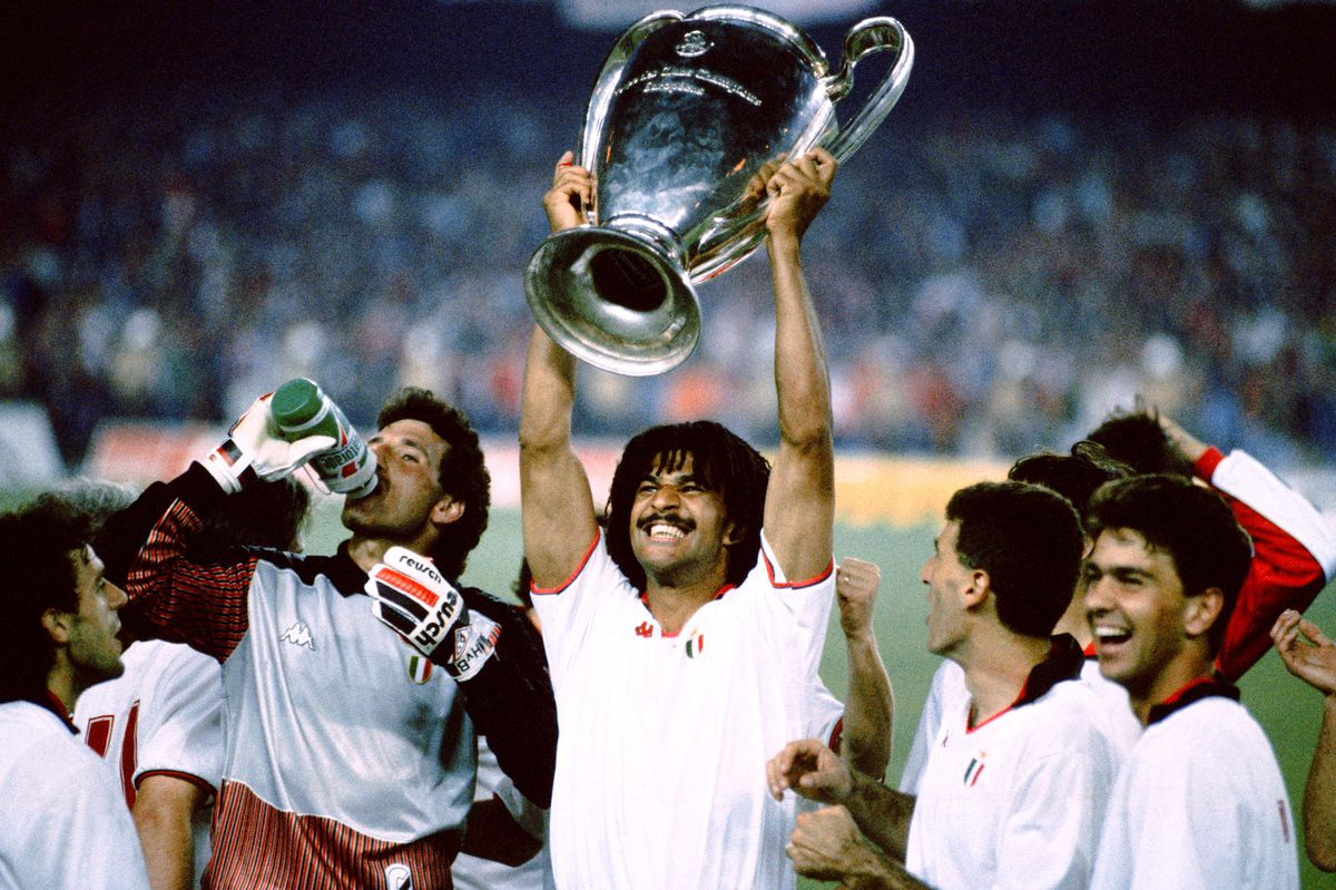 Soccer - European Cup Final - AC Milan v Steaua Bucharest