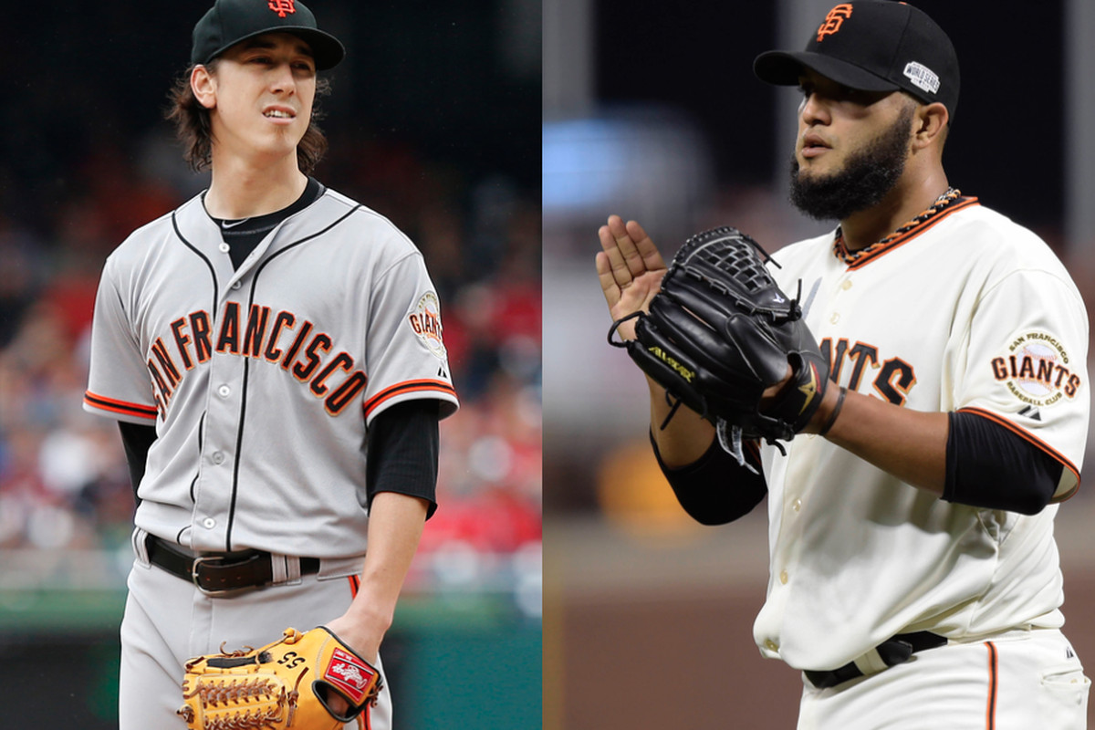 It's time for Tim Lincecum and Yusmeiro Petit to switch roles
