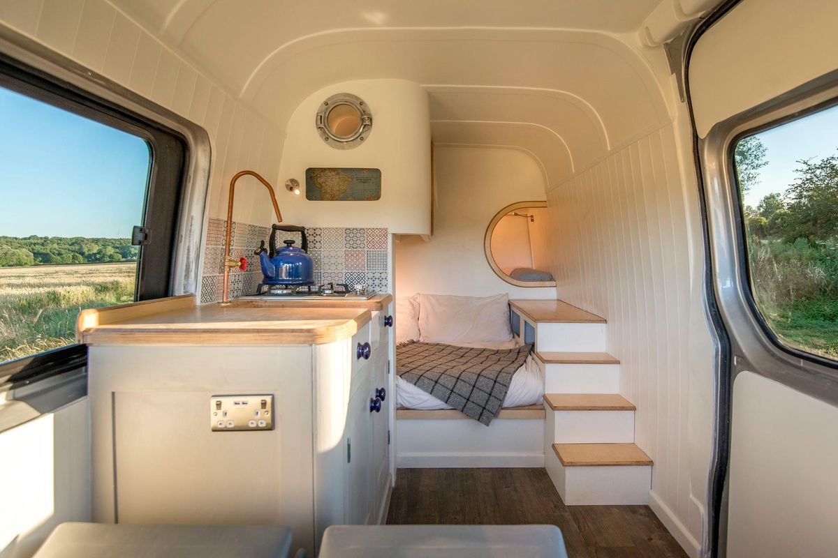 This Custom Camper Van Is A Converted 2012 Mercedes Benz Sprinter 313 And Took 13 Weeks To Build Photos Courtesy Of Moving House