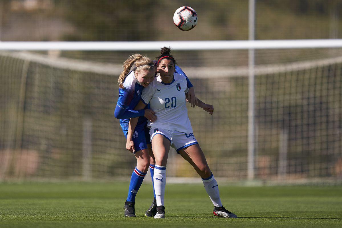 Italy U19 Women v Iceland U19 Women - International Friendly Match