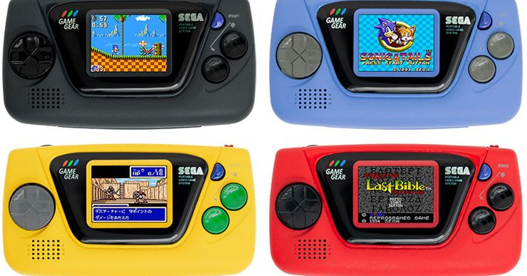 Sega's Game Gear Micro is four $50 consoles with four games each ...
