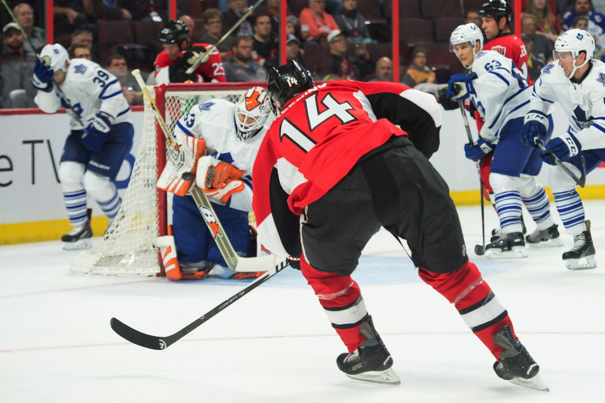 How many more games will we see of Greening in a Senators uniform?