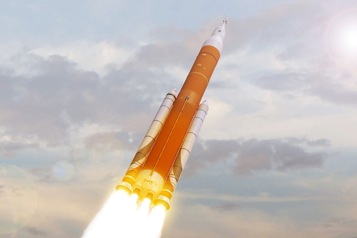 The First Two Flights Of NASA's Next Big Rocket Will