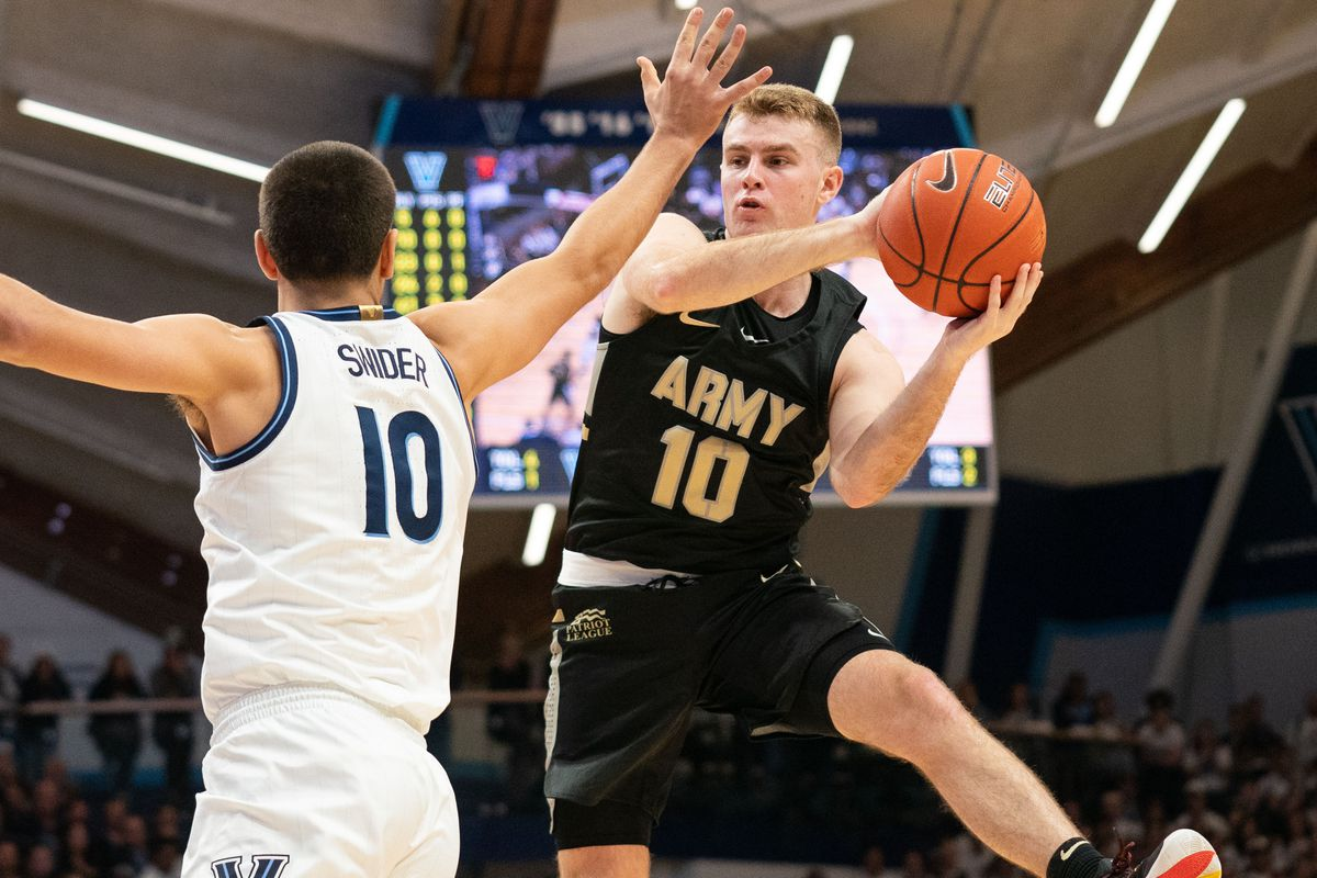 NCAA Basketball: Army at Villanova